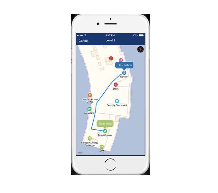 Real-time indoor navigation