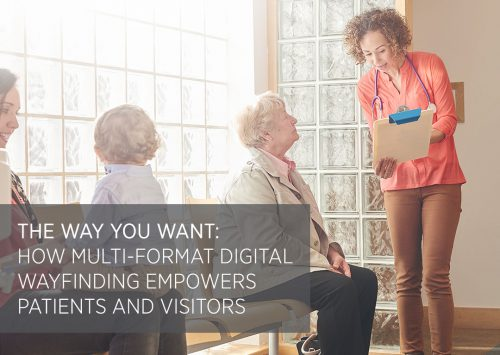 Multi-format Digital Wayfinding Patients Visitors