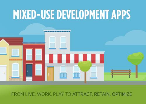 Portfolio Mixed-Use Developments Infographic Phunware