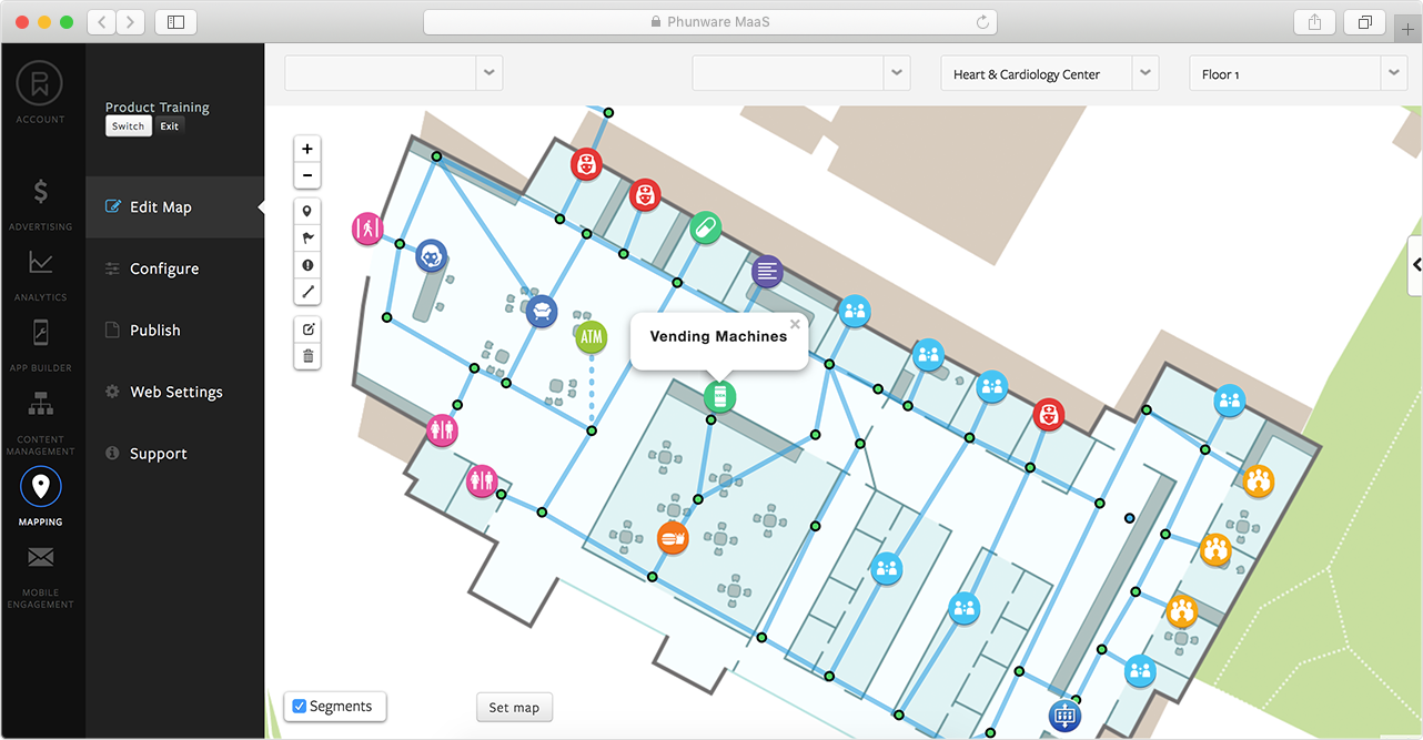 lbs-real-time-map-management