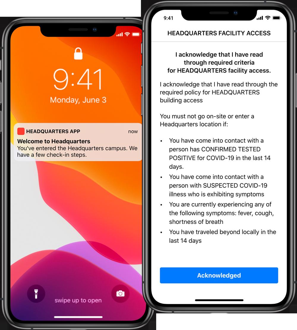 smart-workplace-return-phone-arrival-notification